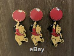Disney Shopping Pooh Transportation Red Balloon Pin LE 250 AP Prototype Set