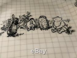 Disney Sketchbook Winnie The Pooh 12 piece set Dinner & Salad Plates & Bowls