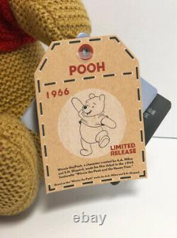 Disney Store Parks Winnie the Pooh Cozy Knits 11 Limited Release Plush NWT