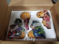 Disney Winnie The Pooh Eeyore Tigger Piglet Halloween Luminaries 4 Figures