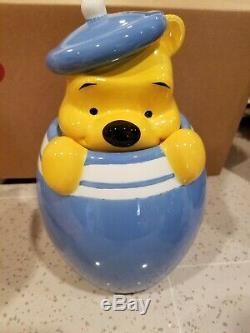 Disney Winnie The Pooh Piglet Tigger Eeyore Peek Cookie Jar Canister Set of 4