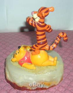 Disney Winnie The Pooh & Tigger Ron Lee Figurine