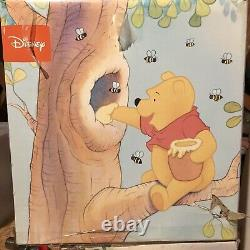Disney Winnie The Pooh Tube TV CRT 13 & DVD Player Yellow (2005) With Remotes GUC