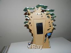 Disney Winnie The Pooh's Countdown To Christmas Tree Sculpture Bradford Exchange