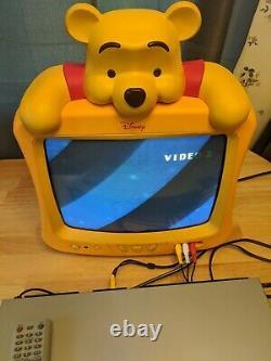 Disney Winnie the Pooh 12 TV / Walt Disney TESTED Model # DT1350