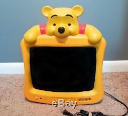 Disney Winnie the Pooh 13 TV DT1350-RWP, TESTED