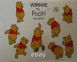 Disney Winnie the Pooh 8 Image Model Cel