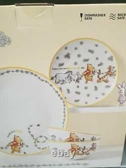 Disney Winnie the Pooh Dinner Set 12 Piece New official product