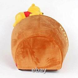 Disney Winnie the Pooh Dog House Honey Pot Type + Cushion Fast Ship Japan EMS