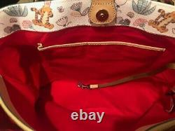 Disney Winnie the Pooh Dooney and Bourke Tote and Wallet, White, NWT, Sold Out