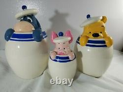 Disney Winnie the Pooh Friends Peek-a-Boo Canister Cookie Jars