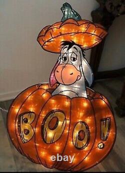 Disney Winnie the Pooh Lighted Halloween Sculpture Yard Outdoor Decorations