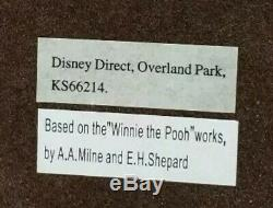 Disney Winnie the Pooh Office Desk 5pc Stationary Set NIB