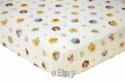 Disney Winnie the Pooh Peeking Pooh 7 Piece Nursery Crib Bedding Set