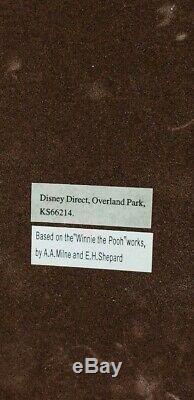 Disney Winnie the Pooh tape dispenser Stapler paper holder Office Desk Set WORKS