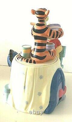 Disney's, Winnie The Pooh, Making Cookies, Cookie Jar, Eeyore, Piglet, Tigger