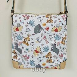 Dooney & Bourke Disney Parks Winnie the Pooh Crossbody Letter Carrier Bag Purse