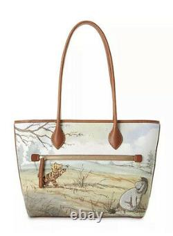 Dooney & Bourke Winnie The Pooh Tote Purse Bag New
