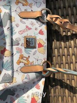 EUC Disney Dooney & Bourke Winnie The Pooh Tote Tigger Eeyore & PALS