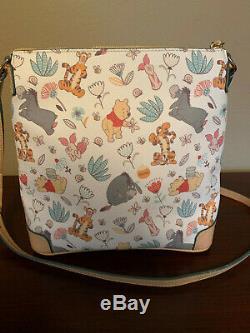 EUC Disney Dooney & Bourke Winnie the Pooh Crossbody Letter Carrier Bag Purse