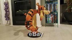 Extremely Rare! Walt Disney Winnie The Pooh Tigger Dancing Big Figurine Statue