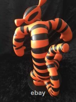 Extremely Rare! Walt Disney Winnie The Pooh Tigger Dancing Figurine Big Statue