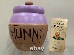 FOSSIL Disney Watch Collectors Club VI HUNNY POT Purple Pooh Sticks Honey Pot
