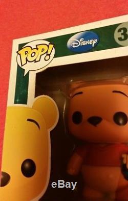 FUNKO POP DISNEY WINNIE THE POOH #32 RARE RETIRED VINYL FIGURE IN Box