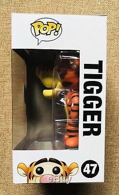 FUNKO TIGGER pop vinyl #47 DISNEY STORE Winnie The Pooh VAULTED + STACK