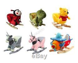FoxHunter Animal Rocker Baby Kids Rocking Infant Toddler Children Nursery Toy