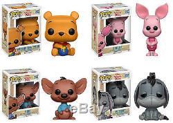 Funko POP! Disney WINNIE THE POOH VINYL FIGURE SET ROO, EEYORE, PIGLET+
