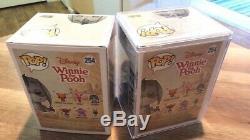 Funko PoP! Winnie The Pooh Eeyore #254 Diamond Chase Exclusive + Protector