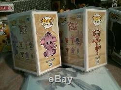 Funko Pop Disney Set 4 Exclusives Winnie The Pooh, Eeyore, Tigger, Heffalump
