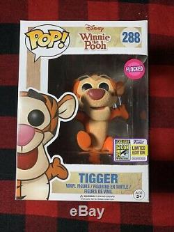 Funko Pop Disney Winnie The Pooh #288 Tigger SDCC 2017 Limited Edition Sticker