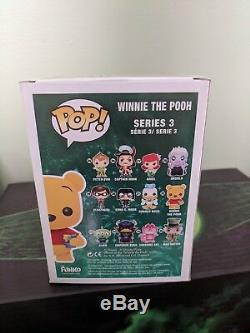 Funko Pop Figure Disney SDCC 2012 Exclusive Winnie The Pooh LTD 480 Flocked Rare