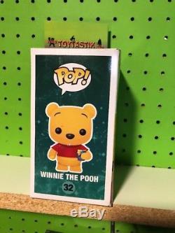 Funko Pop Vinyl Disney Series 3 #32 Winnie The Pooh Flocked SDCC 2012 Exclusive