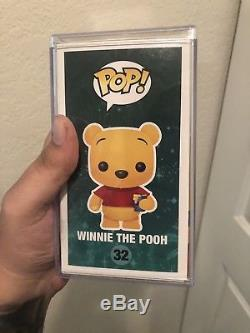 Funko Pop! Winnie The Pooh, 2012 SDCC FLOCKED