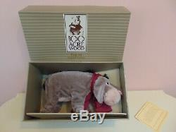 Gund Disney 1990s Classic EEYORE Mohair Plush Fully Jointed 12 LE = 750