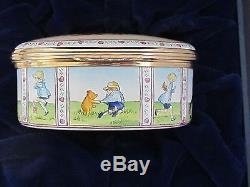 Halcyon Days Winnie The Pooh Christopher Robin Knew just what to do Ltd RARE