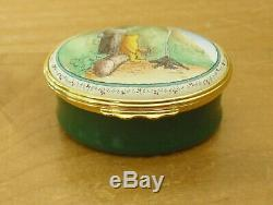 Halcyon Days Winnie the Pooh Once Upon A Time About Last Friday Enamel Box