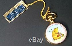 Halcyon Days Winnie the Pooh Small Pocket Watch