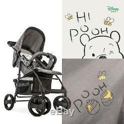 Hauck Shopper Slx Trioset 3 In 1 Pram Travel System Winnie The Pooh Cuddles