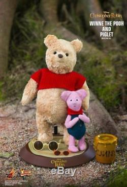 Hot Toys Christopher Robin Winnie The Pooh And Piglet Mms503 1/6 New