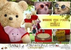 IN HAND Hot Toys MMS503 Christopher Robin Winnie The Pooh and Piglet Figures Set