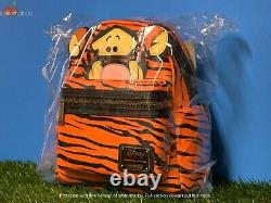 IN HAND SHIPS NOW Loungefly Disney Winnie the Pooh Tigger Mini Backpack Cosplay