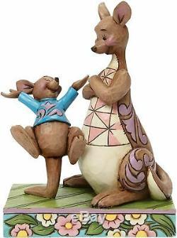 Jim Shore Disney Winnie the Pooh Kanga & Roo Figurine 4045253 Retired New