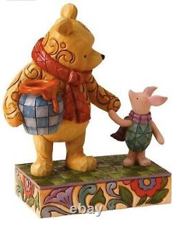 Jim Shore Disney Winnie the Pooh Piglet Together Forever 4016588 RARE New in Box