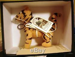 John R. Wright Pocket Tigger New in Box with COA Disney Winnie the Pooh Limited