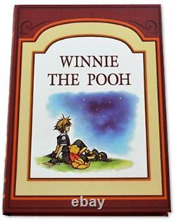 Kingdom Hearts 1,2,3 Book Shaped Storage Box Set Winnie the Pooh 100 Acre Forest