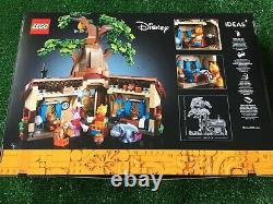 LEGO 21326 Ideas Disney Winnie the Pooh NEW UNOPENED SET but LIGHT BOX DAMAGE